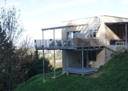 Lichtgitter-Stahlkonstruktion-Terrasse